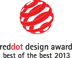 Red Dot Design Award Best of the best 2013
