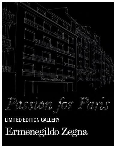 1225 1 passion for PARIS banner gallery Zegna: Passion for Paris