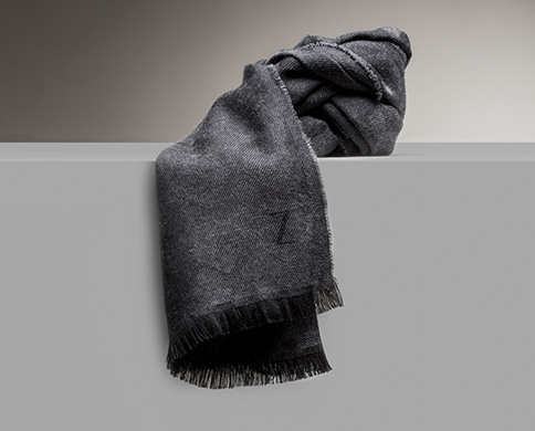 Men's caps and scarves on sale, fall winter 2016 | Zegna