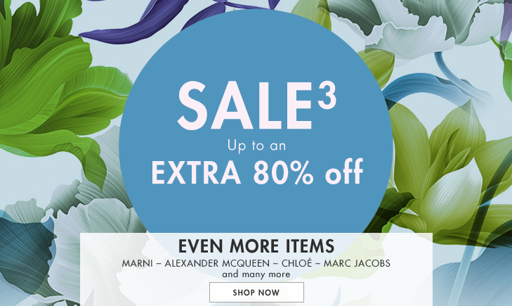 Save up to 80% off on Marni, Alexander mcqueen, Chloé, Marc jacobs and many more at Yoox.com