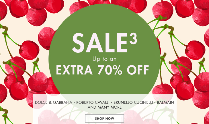 Save up to 70% off on top brands including Dolce & gabbana, Roberto cavlli, Brunello cucinelli and more at Yoox.