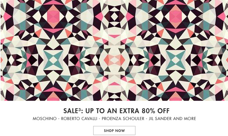 Save up to 80% off Moschino, Roberto cavalli, Proenza schouler and more at Yoox.com