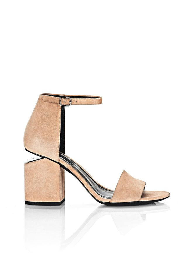Alexander Wang Abby Suede heeled sandals 2nzYh