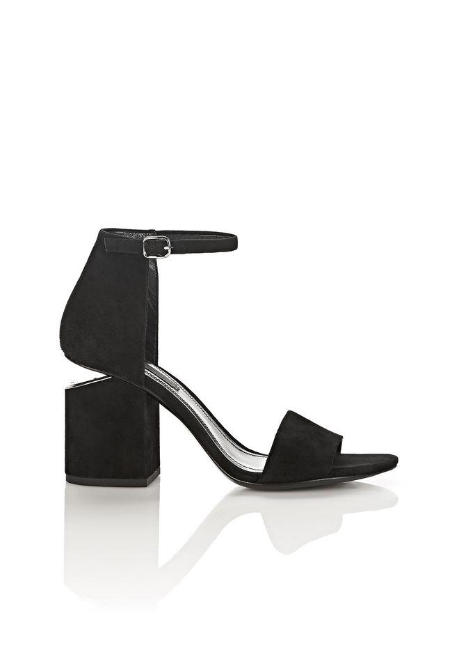 Alexander Wang Black Abby Heel Sandals GZ8ei