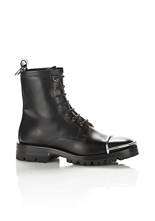 ALEXANDER WANG LYNDON BOOT WITH METAL TOE CAP ブーツ Adult 12_n_f