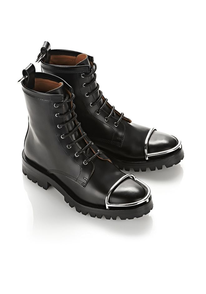 ALEXANDER WANG LYNDON BOOT WITH METAL TOE CAP ブーツ Adult 12_n_r