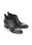 ALEXANDER WANG KORI OXFORD WITH YELLOW GOLD BOOTS Adult 8_n_e