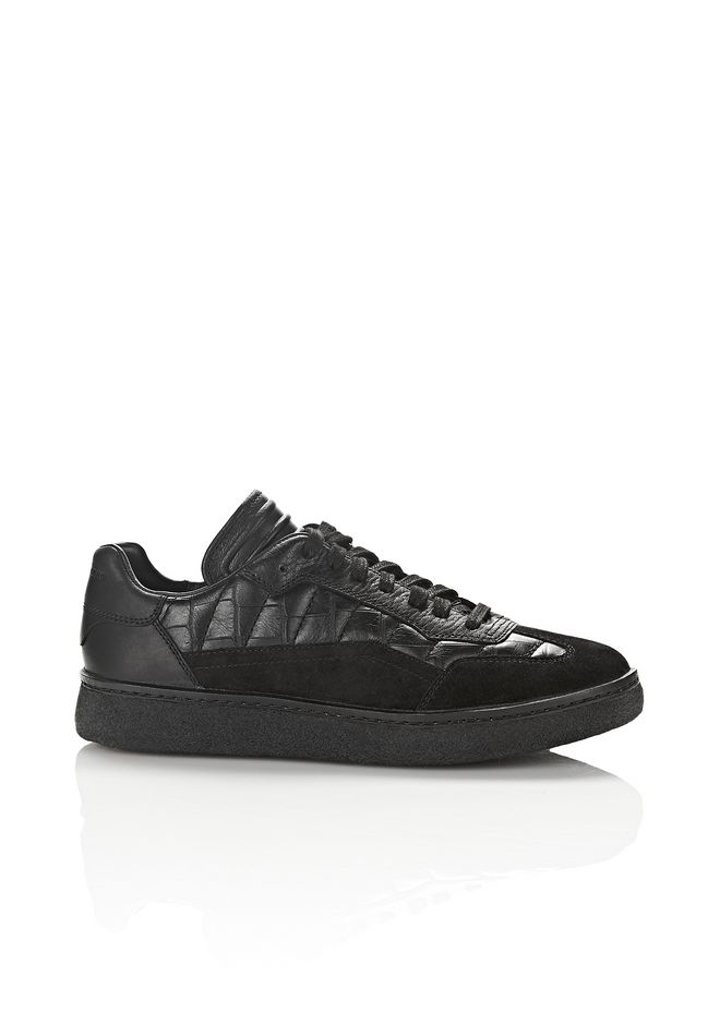 cheap sale latest collections outlet new Alexander Wang Eden Embossed Low-Top Sneakers sale top quality HmjEBjrm