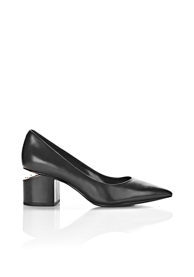 ALEXANDER WANG Heels Women SIMONA MID PUMP WITH RHODIUM