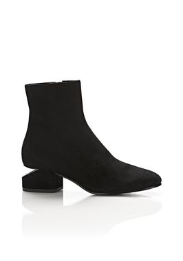 KELLY SUEDE BOOT WITH RHODIUM