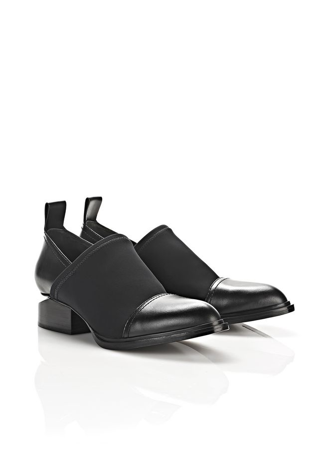 ALEXANDER WANG NEOPRENE KORI OXFORD WITH RHODIUM BOOTS Adult 12_n_a