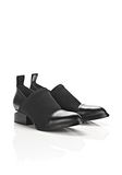 ALEXANDER WANG NEOPRENE KORI OXFORD WITH RHODIUM BOOTS Adult 8_n_a