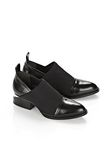 ALEXANDER WANG NEOPRENE KORI OXFORD WITH RHODIUM BOOTS Adult 8_n_r