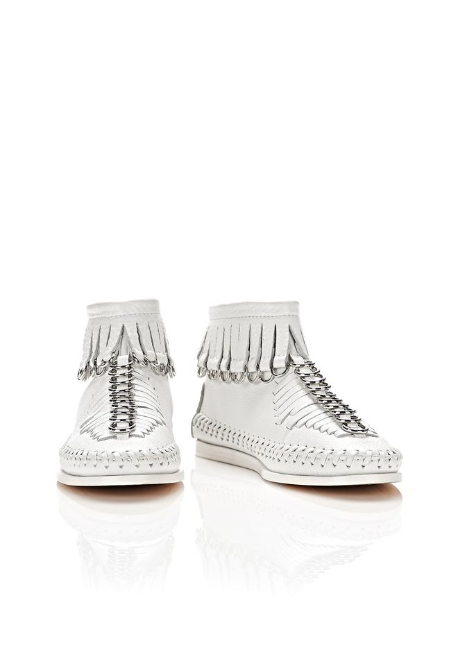 ALEXANDER WANG MONTANA FRINGE BOOT  BOOTS Adult 12_n_a