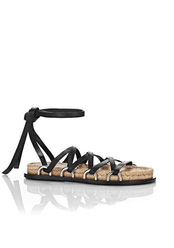 Alexander Wang Leather Sandal THgFXYD