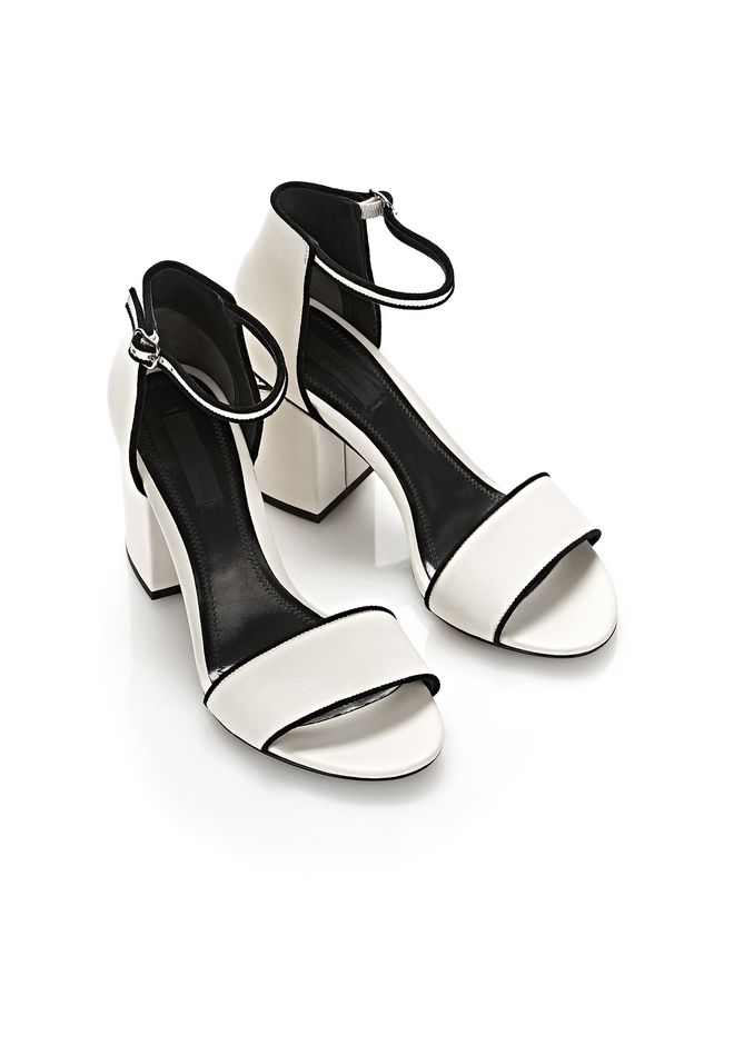 ALEXANDER WANG ABBY SANDAL WITH RHODIUM Heels Adult 12_n_d