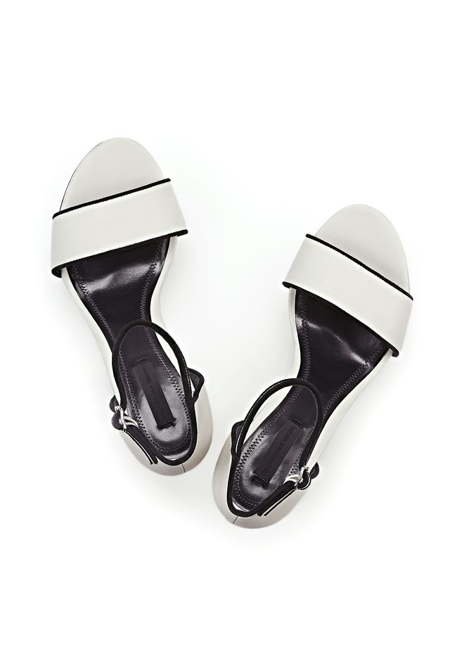 ALEXANDER WANG ABBY SANDAL WITH RHODIUM Heels Adult 12_n_e