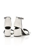 ALEXANDER WANG ABBY SANDAL WITH RHODIUM Heels Adult 8_n_r