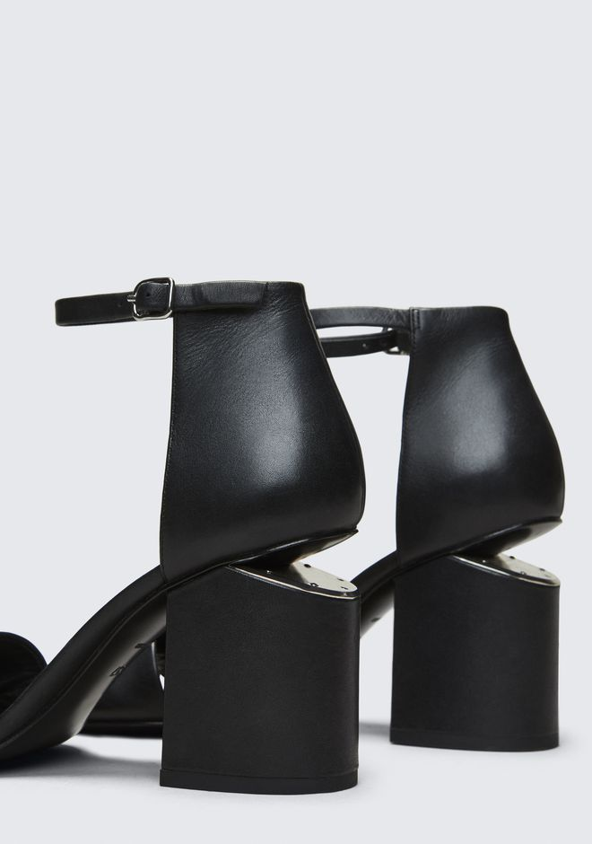 ALEXANDER WANG ABBY SANDAL WITH RHODIUM Heels Adult 12_n_a