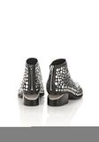 ALEXANDER WANG STUDDED KORI OXFORD WITH RHODIUM BOOTS Adult 8_n_a