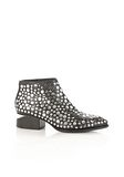 ALEXANDER WANG STUDDED KORI OXFORD WITH RHODIUM BOOTS Adult 8_n_f