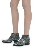 ALEXANDER WANG STUDDED KORI OXFORD WITH RHODIUM BOOTS Adult 8_n_r