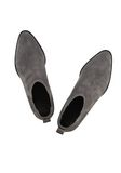 ALEXANDER WANG KORI SUEDE OXFORD WITH RHODIUM BOOTS Adult 8_n_d