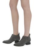 ALEXANDER WANG KORI SUEDE OXFORD WITH RHODIUM BOOTS Adult 8_n_r