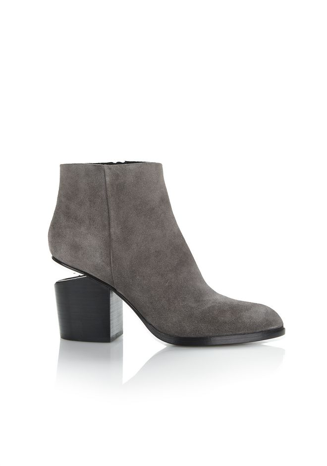 ALEXANDER WANG Ankle boots Women GABI SUEDE BOOTIE WITH RHODIUM