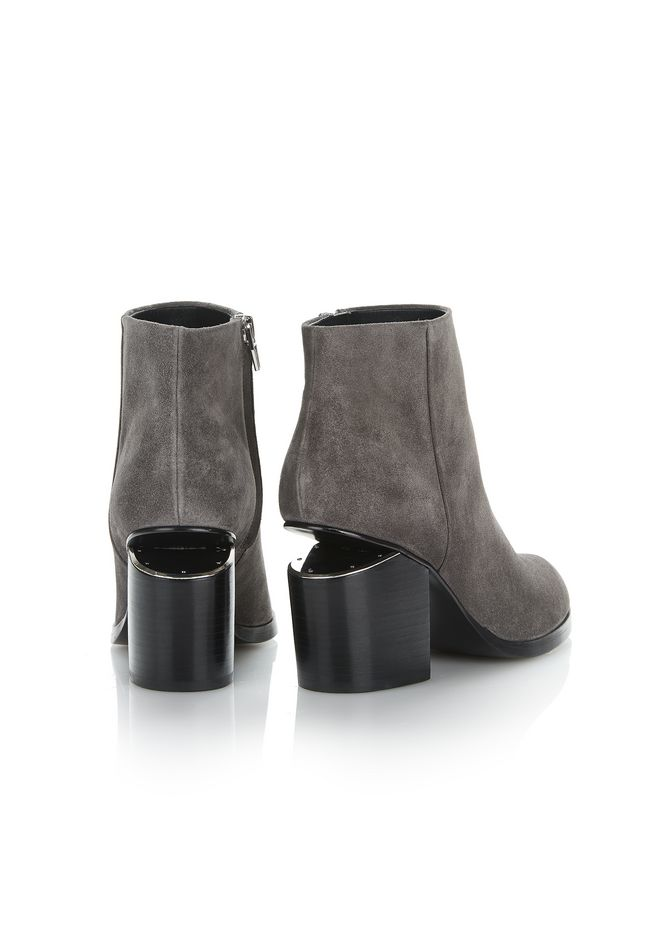 ALEXANDER WANG GABI SUEDE BOOTIE WITH RHODIUM 靴子 Adult 12_n_a