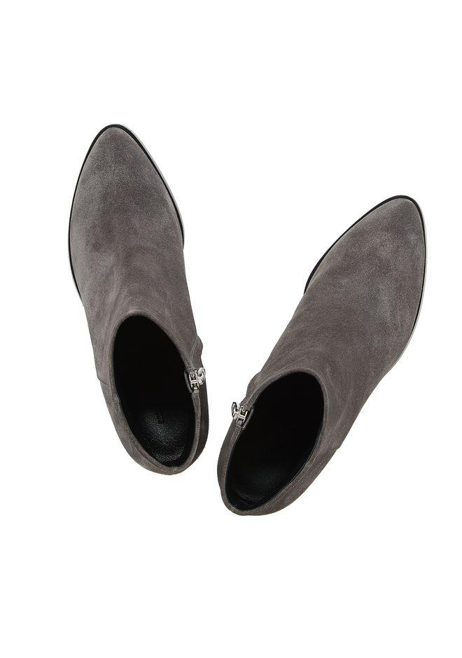 ALEXANDER WANG GABI SUEDE BOOTIE WITH RHODIUM 靴子 Adult 12_n_d