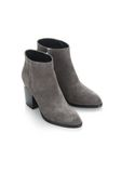 ALEXANDER WANG GABI SUEDE BOOTIE WITH RHODIUM 靴子 Adult 8_n_e