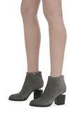 ALEXANDER WANG GABI SUEDE BOOTIE WITH RHODIUM 靴子 Adult 8_n_r