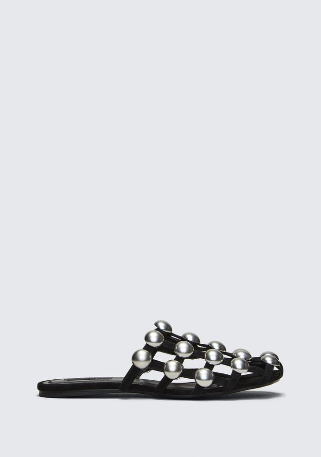 ALEXANDER WANG CHAUSSURES PLATES Femme AMELIA SUEDE SANDAL