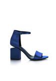 ALEXANDER WANG ABBY SATIN SANDAL WITH RHODIUM Heels Adult 8_n_f