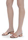 ALEXANDER WANG METALLIC LOU SANDAL  平底鞋 Adult 8_n_r