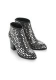 ALEXANDER WANG STUDDED GABI BOOTIE WITH RHODIUM BOOTS Adult 8_n_e