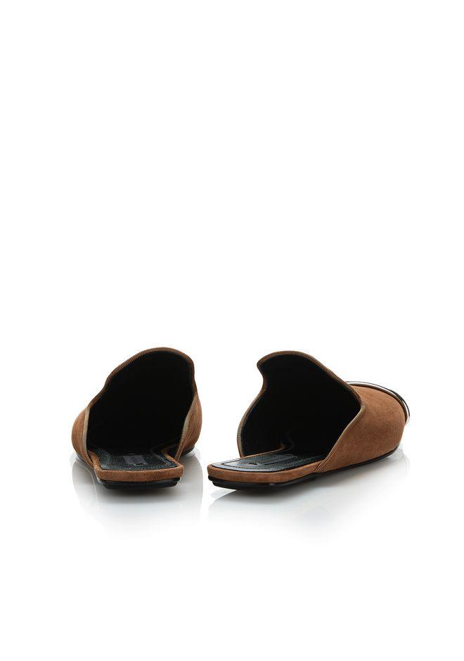 ALEXANDER WANG JAELLE SUEDE SLIDE 平底鞋 Adult 12_n_a