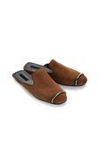 ALEXANDER WANG JAELLE SUEDE SLIDE 平底鞋 Adult 8_n_e