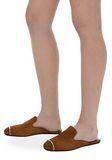 ALEXANDER WANG JAELLE SUEDE SLIDE 平底鞋 Adult 8_n_r