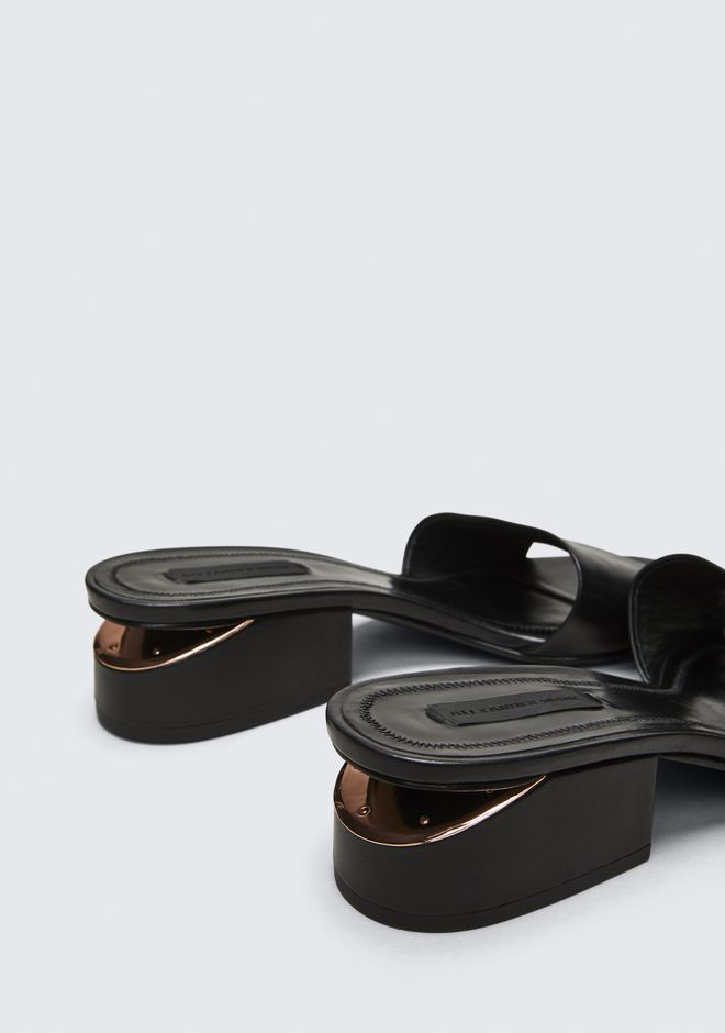 ALEXANDER WANG LOU SANDAL WITH ROSE GOLD SANDALES Adult 12_n_r