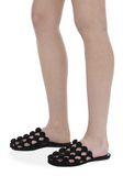 ALEXANDER WANG AMELIA VELVET SLIDE 平底鞋 Adult 8_n_r