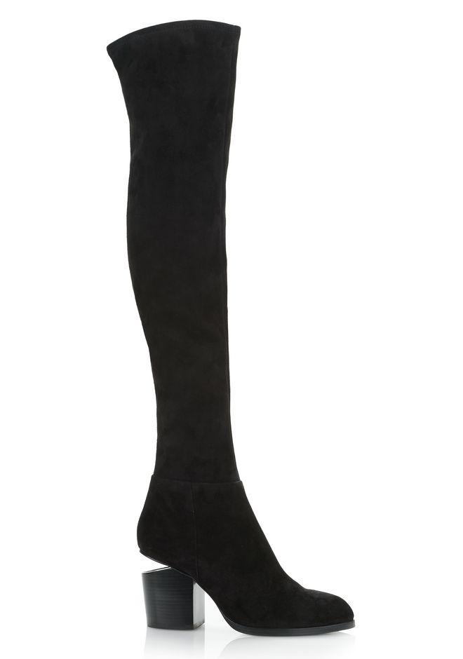 ALEXANDER WANG Boots GABI THIGH HIGH SUEDE BOOTS