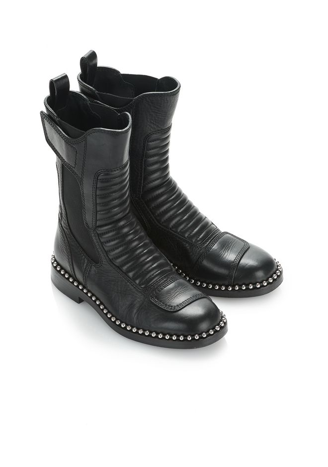 ALEXANDER WANG MICA BOOT BOOTS Adult 12_n_a