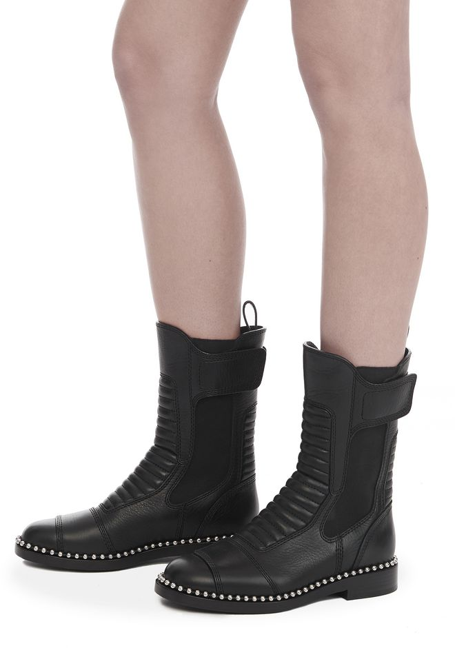 ALEXANDER WANG MICA BOOT BOOTS Adult 12_n_r