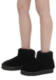ALEXANDER WANG YUMI SHEARLING BOOTIE BOOTS Adult 8_n_r