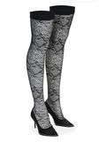ALEXANDER WANG LYRA LACE THIGH HIGH BOOT 中跟鞋 Adult 8_n_d
