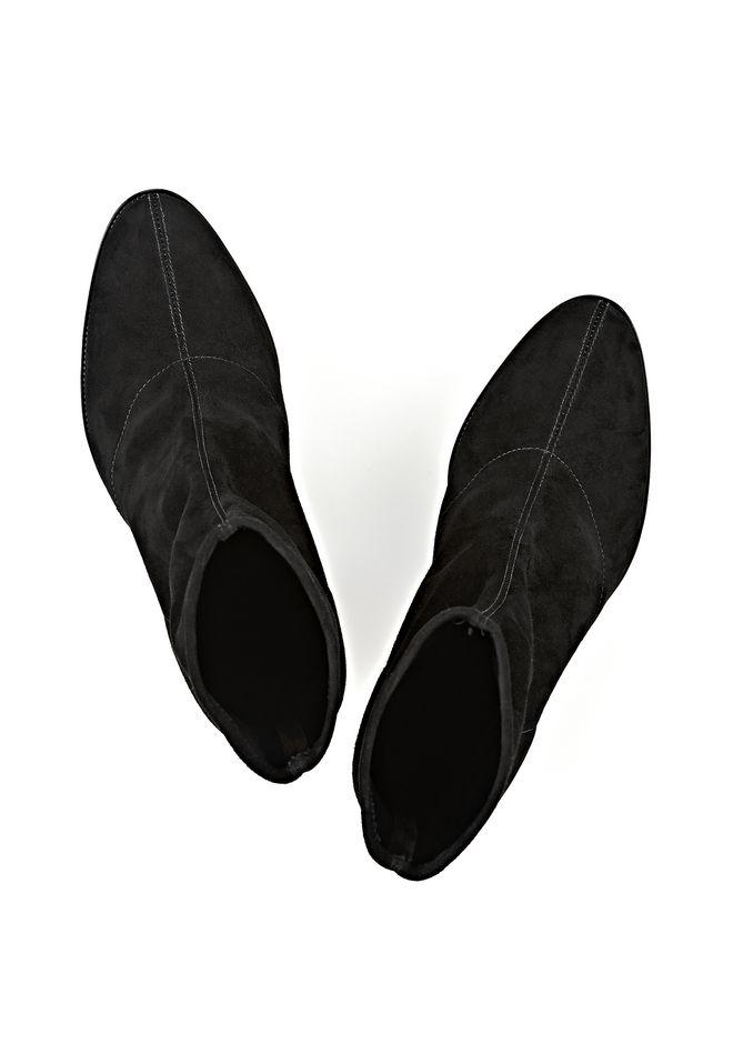 ALEXANDER WANG GIA SUEDE HIGH HEEL BOOTIE 靴子 Adult 12_n_e