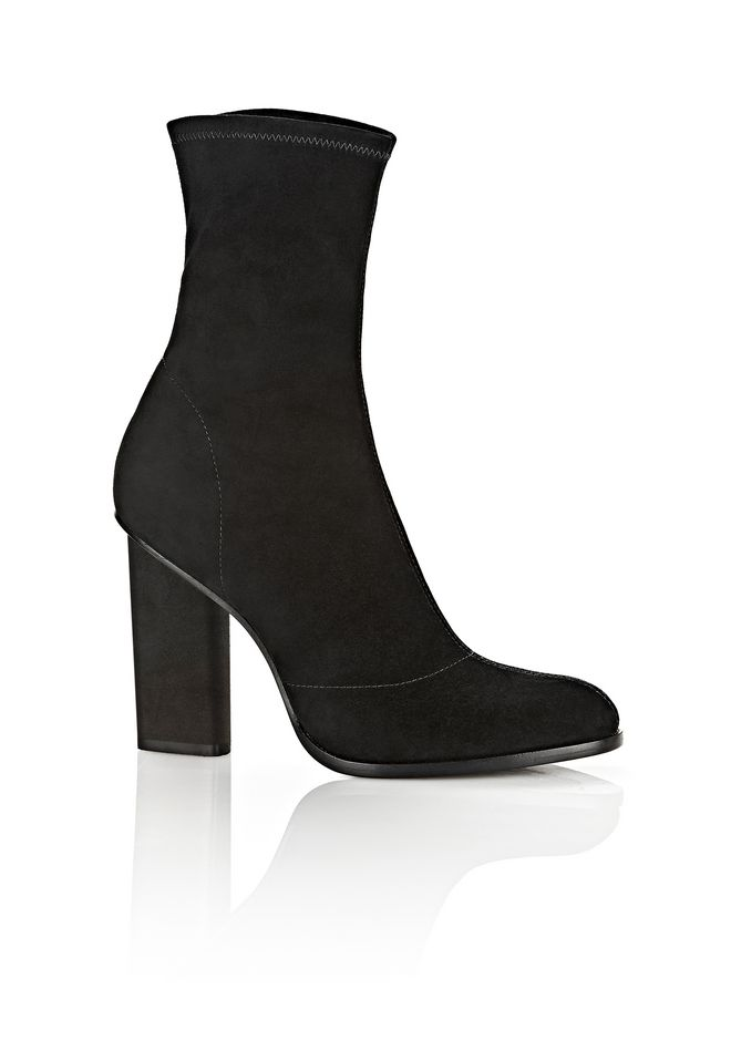 ALEXANDER WANG GIA SUEDE HIGH HEEL BOOTIE 靴子 Adult 12_n_f