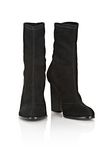 ALEXANDER WANG GIA SUEDE HIGH HEEL BOOTIE BOOTS Adult 8_n_a